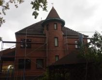 общий вид дома с мансардой до реконструкции