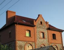 Крыша с мансардными окнами для двухэтажного особняка