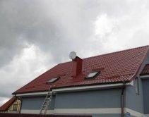 Работы по чистке крыши