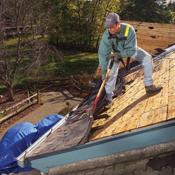 Roof rušenje