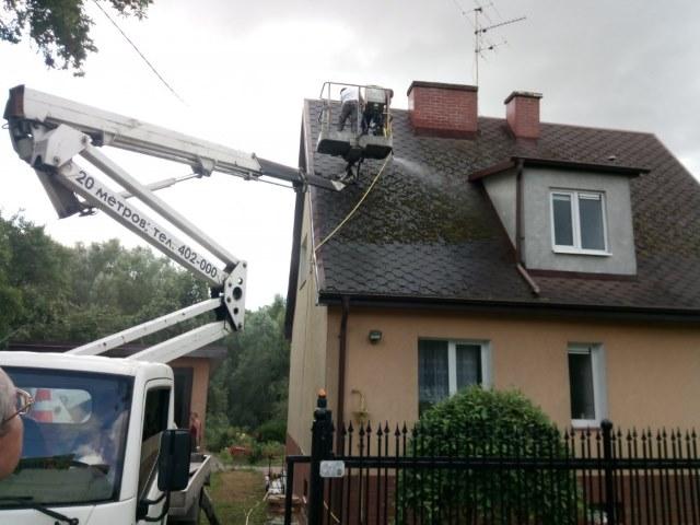 Кровельные работы: обслуживание крыши